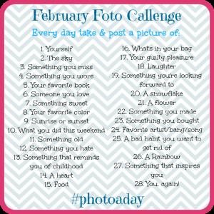 February Foto Challenge