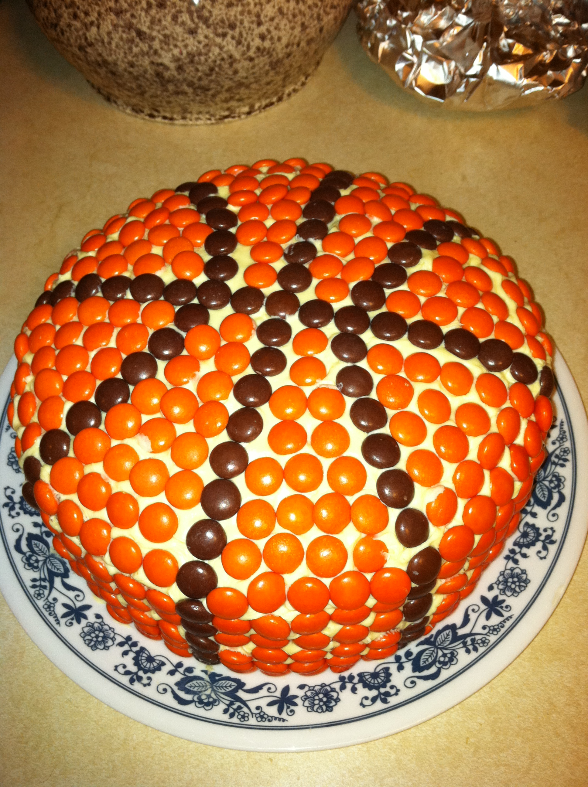 How to Make a High Quality Basketball Cake The Snarky Scoop
