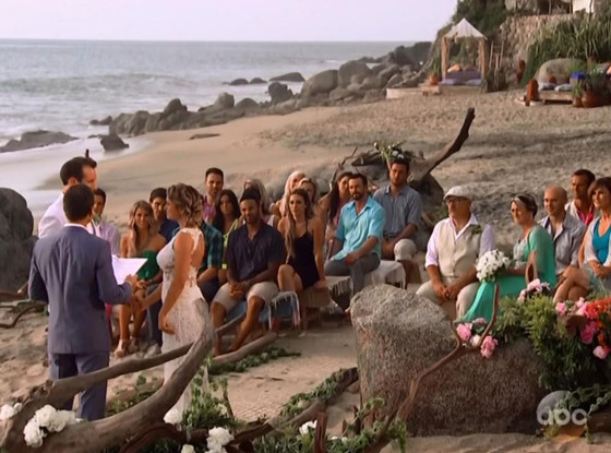 Marcus and Lacy Bachelor in Paradise Wedding