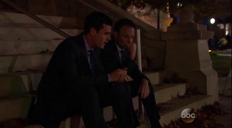 Bachelor Ben and Chris Harrison