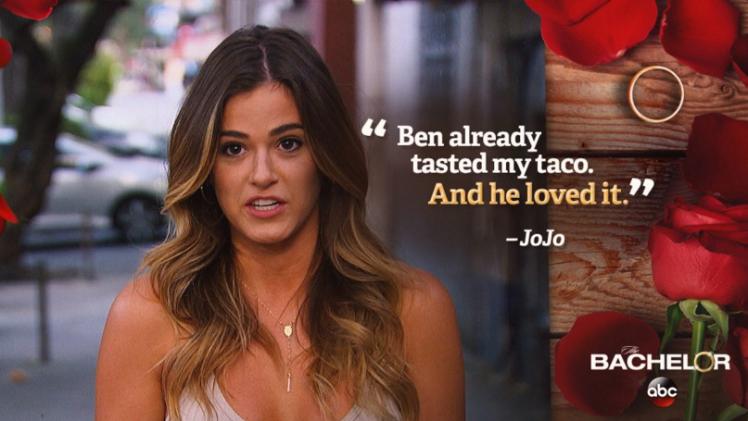Bachelor Ben - Jojo Taco