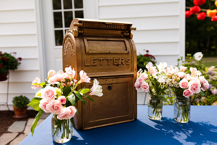 Vintage Mailbox for Cards
